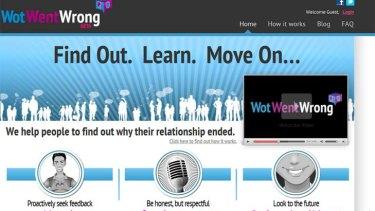 A screen shot from www.wotwentwrong.com.