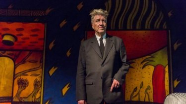 Artist David Lynch at the opening of his exhibition: Between Two Worlds at Gallery of Modern Art (GOMA) on March 13, 2015 in Brisbane, Australia.