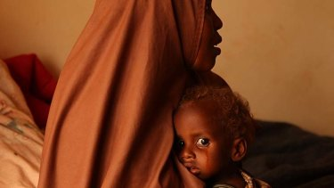 World class ... Jacky Ghossein's award-winning famine photo.