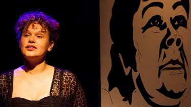 Ruby shines … Leah Purcell establishes a bond with the audience.