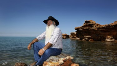 Patrick Dodson, the man known as the father of reconciliation.