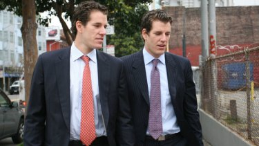 Court ruling ... Tyler and Cameron Winklevoss.