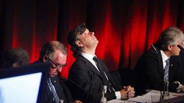 Peter Lowy ... facing tax scrutiny.