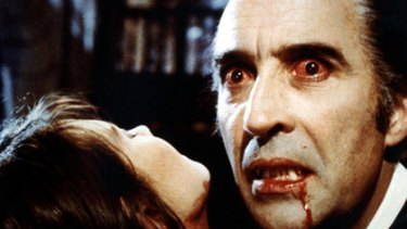 476ae5f1253b84 Thirsty work ... Christopher Lee stars in 1972's Dracula.