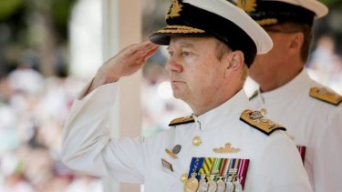 A co-author of the Pentagon report: Australian Rear Admiral James Goldrick.