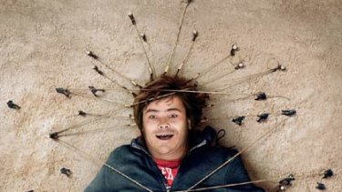 No small feat ... Jack Black in Gulliver's Travels.