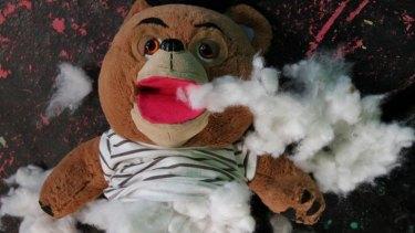 Teddy meets an unfortunate end.