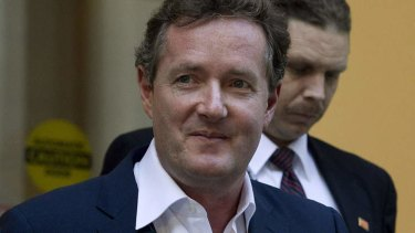 Piers Morgan ... wants greater gun control in the US.