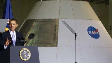 US President Barack Obama ... wants to send astronauts to orbit Mars.
