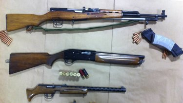 Police have launched a nationwide crackdown on illegal trade in firearms.
