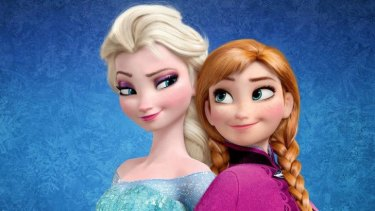 Back for a sequel: Elsa and Anna from the original <i>Frozen</i>.