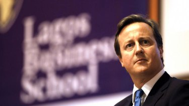British Prime Minister David Cameron: No social housing for London looters.