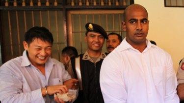 Confessed ... Andrew Chan, left, and Myuran Sukumaran.