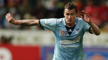 Sebastian Ryall of Sydney FC says jibes from rival fans only serves as motivation.