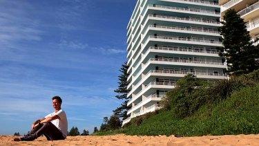 Wanting resolution: Tom FitzGerald, Australian Coastal Society NSW convener, at Collaroy.