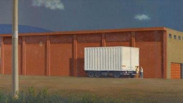 Jeffrey Smart's <em>The Red Warehouse</em> (2003)