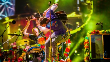 Chris Martin and Will Champion