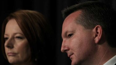 Immigration Minister Chris Bowen is in a bind over how children will be treated under the Malaysian solution'.