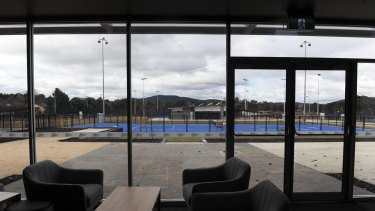 The Next Gen Canberra, is about to open in two weeks on the site of the old National Tennis Centre, Lyneham.