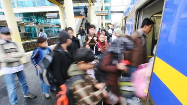 The Dandenong rail line will need extra tracks if commuting times are not to become unpalatably slow.