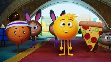 <i>The Emoji Movie</I> is a computer-animated fantasy set inside a teenager's mobile phone.