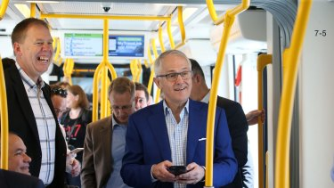Keolis Downer has welcomed Prime Minister Turnbull's support for public transport systems such as G:link.