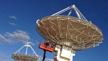 The Square Kilometre Array site in Western Australia.