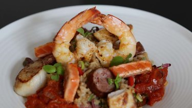 The one dish you must try ... Seafood jambalaya $24.