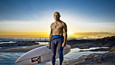 Surfing legend Tom Carroll is a brand ambassador for the Shark Shield.