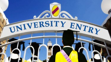 The wait is over for more than 50,000 school leavers who received their first round university offer on Wednesday