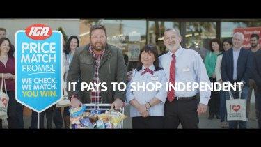 Metcash is planning to relaunch its Price Match program after the first campaign, championed by actor Shane Jacobson, helped protect IGA sales.