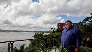 John Symond's home will be the site of an event to boost the Liberal Party's coffers.