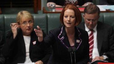 """""""I've rebuilt a proper cabinet system of government"""" ... Prime Minister Julia Gillard."""