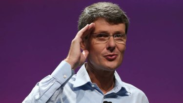 Heins says BlackBerry aims to knock off  Windows Phone as world No.3.