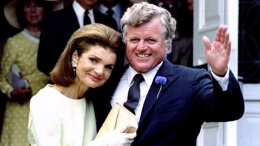 Jacqueline with brother-in-law Ted.