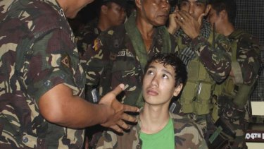 Conflicting accounts ... kidnap victim Kevin Lunsmann.