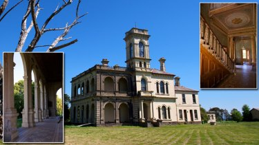Heritage-listed Mintaro, in Romsey,  goes to auction next Saturday. Built in 1882 by a grazier, it started falling into disrepair during World War II.