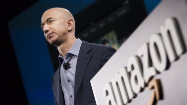 Jeff Bezos delivered on his promise for a profit for the Christmas quarter, but it wasn't as high as investors were hoping for.