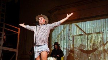 Douglas Hansell as Barnaby Joyce in The Wharf Revue.