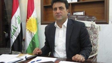 Brigadier Helgurd Hikmet Mela Ali, spokesman for the Kurdistan regional government's Peshmerga Ministry.