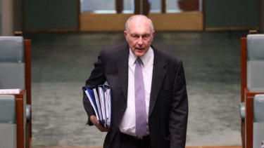 """""""Windows of opportunities:"""" The time is right to invest in infrastructure projects as construction companies have slashed prices to gain work, says Minister Warren Truss."""