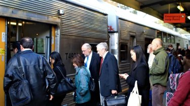 """""""Part of the problem we have today is that we have a clumsy 19th-century-focused double-deck system that keeps trying to have Band Aid solutions"""" ... Gladys Berijiklian has launched a new model rail system to accomodate the system's worsening crush of commuters."""