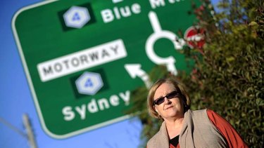 Taking a toll ... Barbara Kowalewski of Winmalee commutes daily to Blacktown on the M4 motorway.