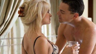 Margot Robbie stars as Leonardo DiCaprio's girlfriend in <i>The Wolf of Wall Street</i>.