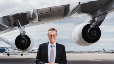 Sydney Airport CEO Geoff Culbert wants better rail links to the CBD.