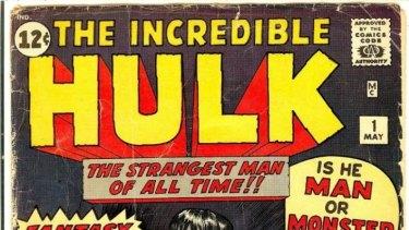 Hulk, a Stan Lee comic