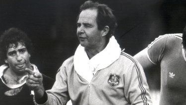 Inimitable ... David Brockhoff both played for and coached the Wallabies.