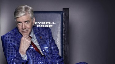 Shaun Micallef is primed for the election coverage.