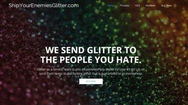 Obnoxious glitter bombs turned into a profit.