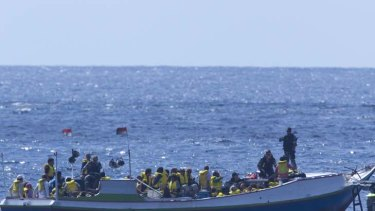 """It is people smugglers who are responsible for deaths at sea"" ... opposition immigration spokesman Scott Morrison."